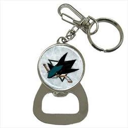 San Jose Sharks Bottle Opener Keychain - NHL Hockey