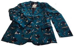 San Jose Sharks NHL Ugly Business Sport Coat Repeat Logo by