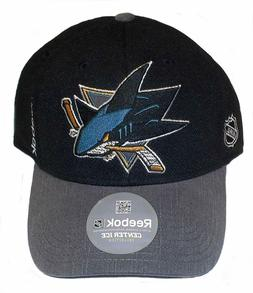 Reebok San Jose Sharks Cap Structured Flex Hat
