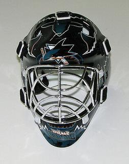San Jose Sharks Franklin Sports Collectible Mini Goalie Mask