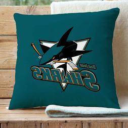 San Jose Sharks Custom Pillows Car Sofa Bed Home Decor Cushi