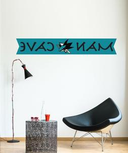 San Jose Sharks Wall Sticker NHL Logo Vinyl Sport Hockey Man