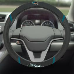 San Jose Sharks Embroidered Steering Wheel Cover