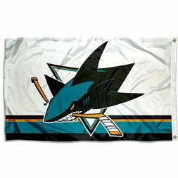 San Jose Sharks Flag 3x5 Banner