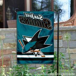 San Jose Sharks Garden Flag and Yard Banner