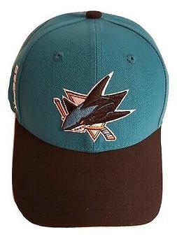 Reebok San Jose Sharks Hat Structured Adjustable Cap NHL Hea