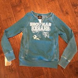 San Jose Sharks NHL Kids Sweater Size 10 Hockey Pocket Pullo