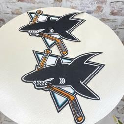 San Jose Sharks Large Crest Patch Embroidered Vintage Logo S