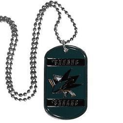 san jose sharks licensed nhl hockey necklace