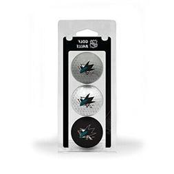 San Jose Sharks NHL 3 Ball Pack
