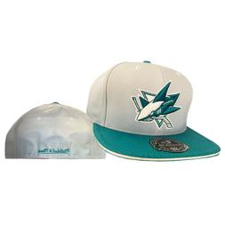 San Jose Sharks NHL Authentic Mitchell & Ness 2 Tone Fitted