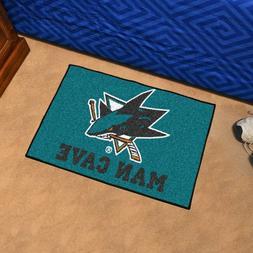 San Jose Sharks NHL Man Cave Starter Floor Mat
