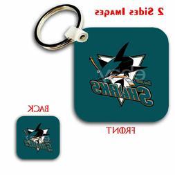 San Jose Sharks NHL Custom Key Chain Key Ring Jewelry Pendan