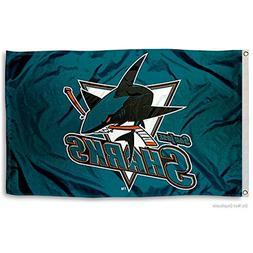 San Jose Sharks NHL 3x5 Flag