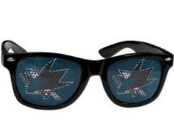 San Jose Sharks Official NHL Game Day Shades by Siskiyou 309