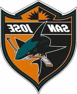 San Jose Sharks NHL Hockey bumper sticker wall decor vinyl d