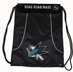 Concept One San Jose Sharks NHL Hockey Nylon Drawstring Back