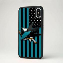 San Jose Sharks NHL Ice Hockey Silicone Phone Tpu Cover Case