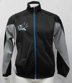 San Jose Sharks NHL Men's Full Zip G-III Track Jacket Black