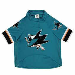 PETS FIRST SAN JOSE SHARKS NHL PET JERSEY