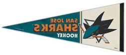 SAN JOSE SHARKS NHL Vintage Hockey Collection Premium Felt C