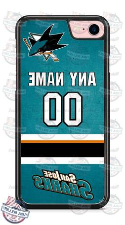 SAN JOSE SHARKS PERSONALIZED PHONE CASE COVER FOR iPHONE 11