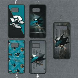 San Jose Sharks Phone Case For Samsung Galaxy S20 S10 S9 S8