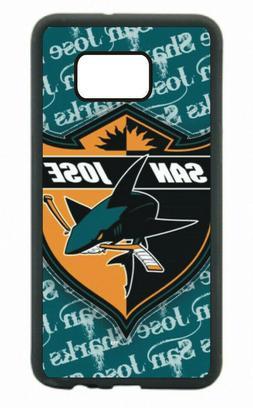 San Jose Sharks Phone Case For Samsung Galaxy S10 S9 S8+ S7