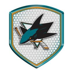 San Jose Sharks Logo Vinyl Sticker Decal **SIZES** Cornhole Wall Car Bumper
