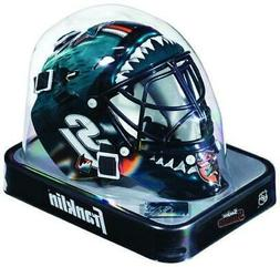 San Jose Sharks Team Logo Mini Goalie Mask  NHL Helmet Hocke