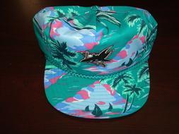SAN JOSE SHARKS TROPIC VINTAGE SNAPBACK rare  hat cap 90s Ha