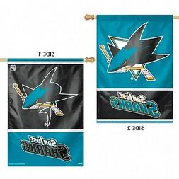 San Jose Sharks WC Premium 2-Sided 28x40 Banner Outdoor Hous
