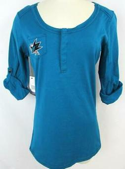 San Jose Sharks Womens Medium or Large Touch Embroidered Hen