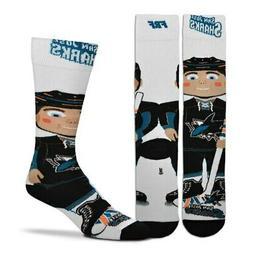 For Bare Feet San Jose Sharks Youth Bobble Head Quarter-Leng