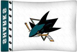San Jose Sharks Micro Fiber Standard Pillow Case from Kentex