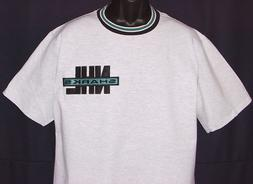 Vintage 90s NHL San Jose SHARKS NUTMEG T-Shirt Tack&Twill LO